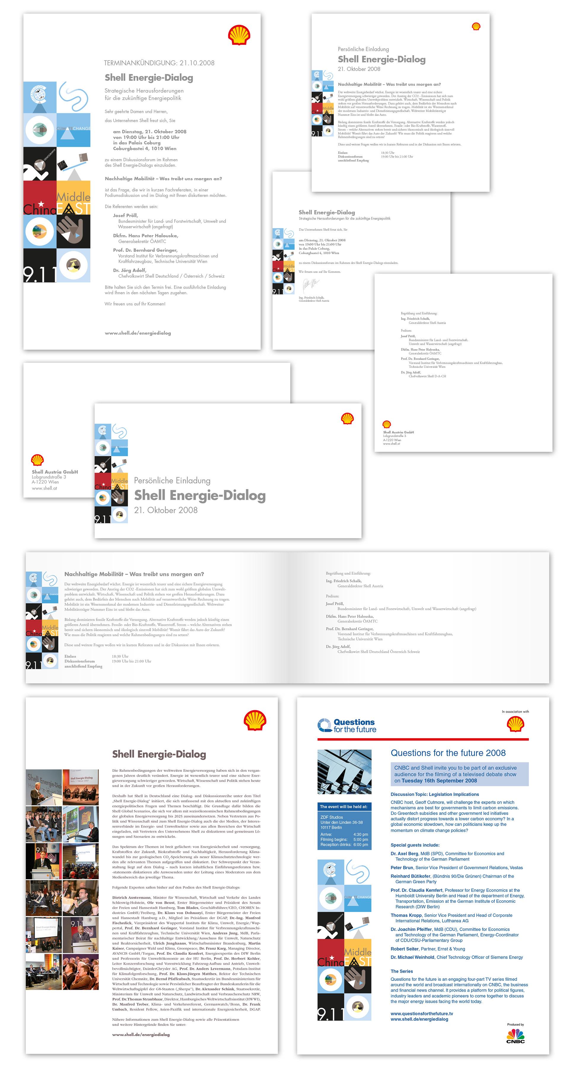 Shell DE Conference materials